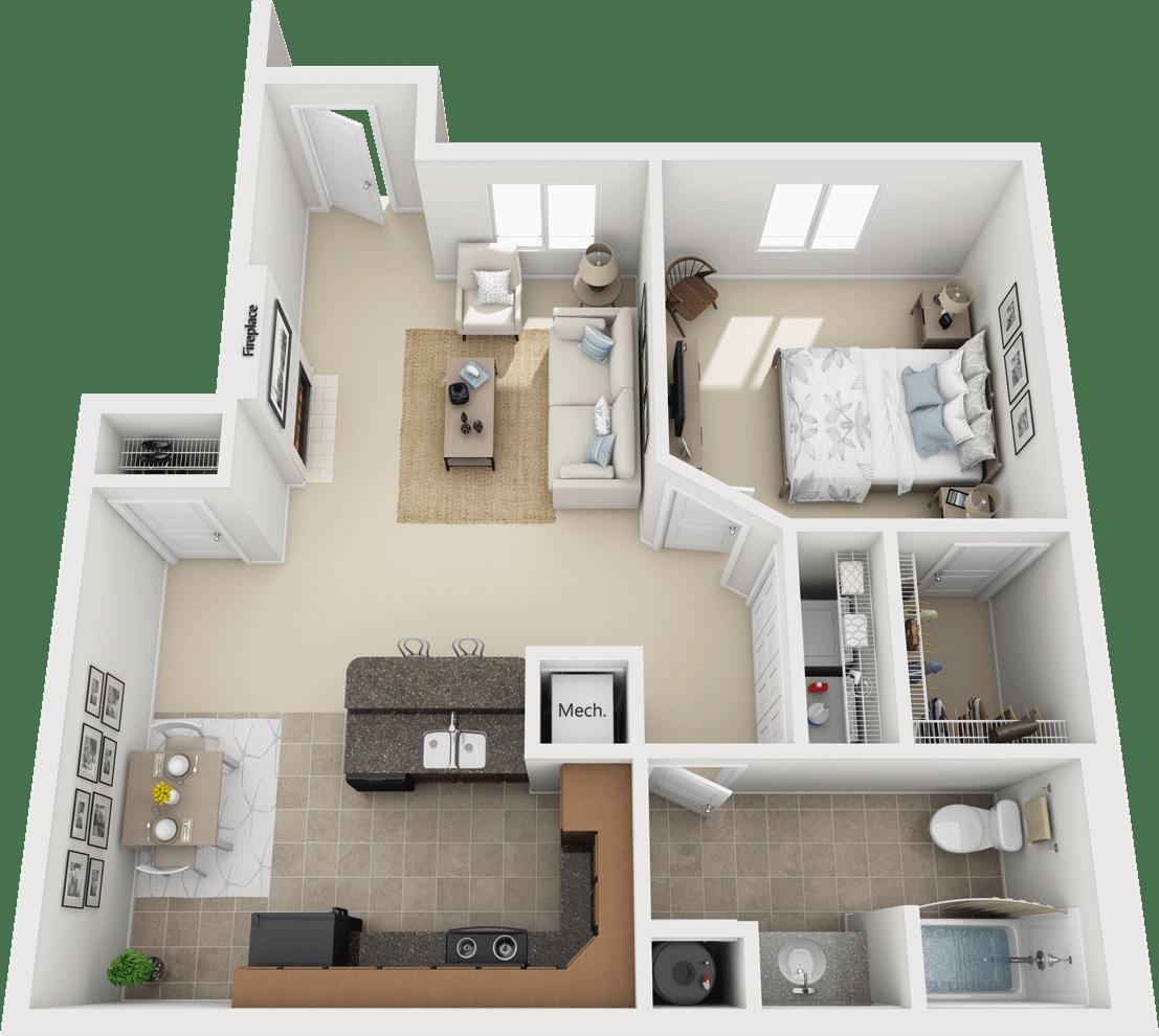 The Legends - Oakmont Floorplan