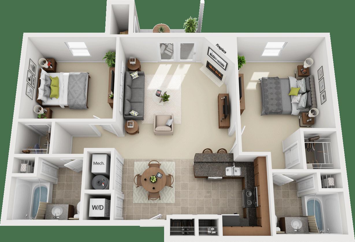 The Legends - Pinehurst Floorplan
