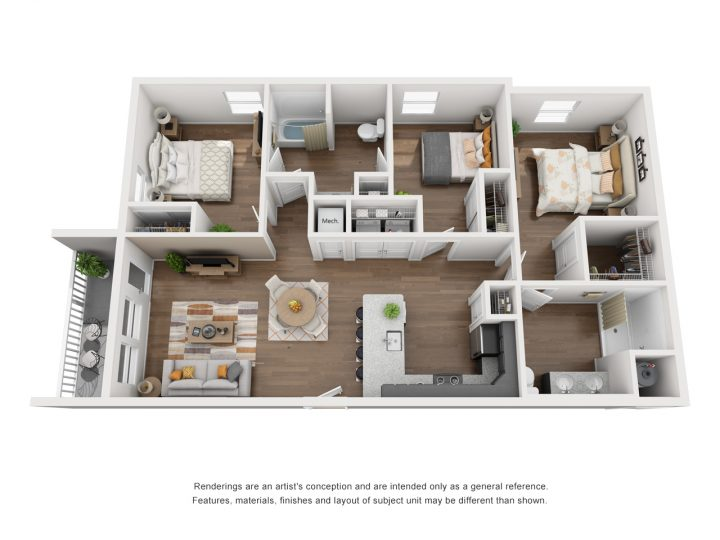 Ellerston Floor Plan