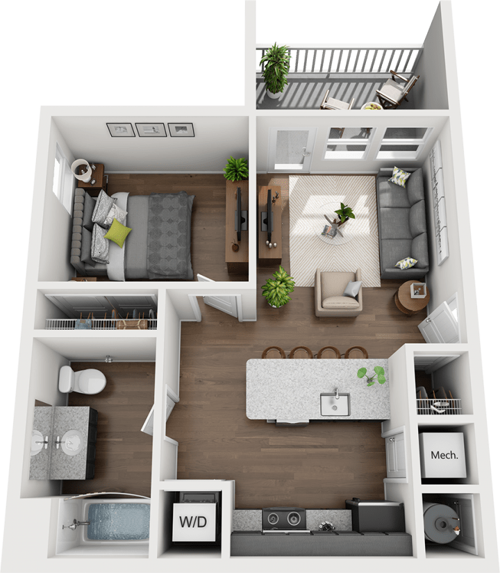 Legends - The Hudson Floorplan