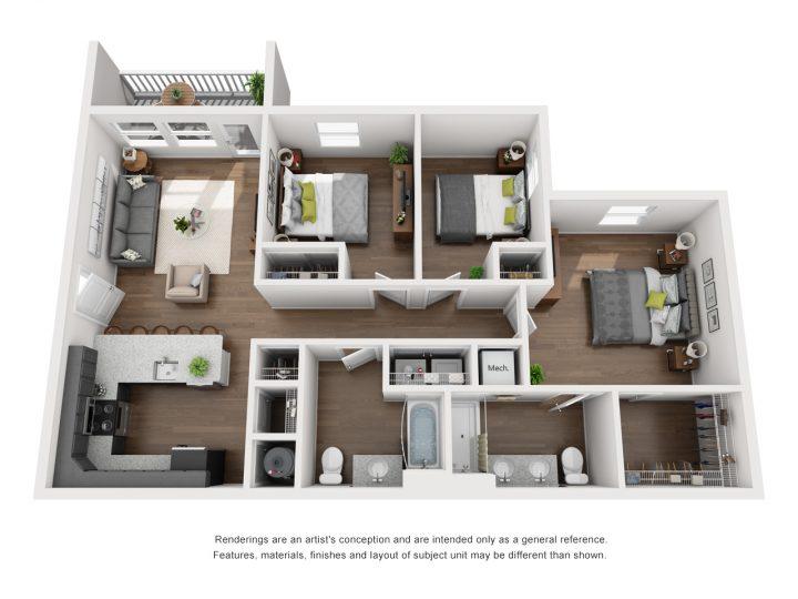 Kingston Floor Plan