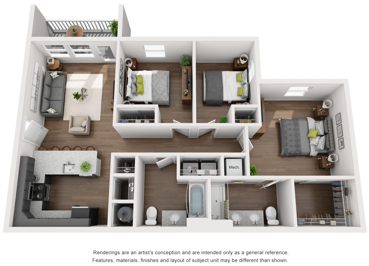 Kingston Floor Plan
