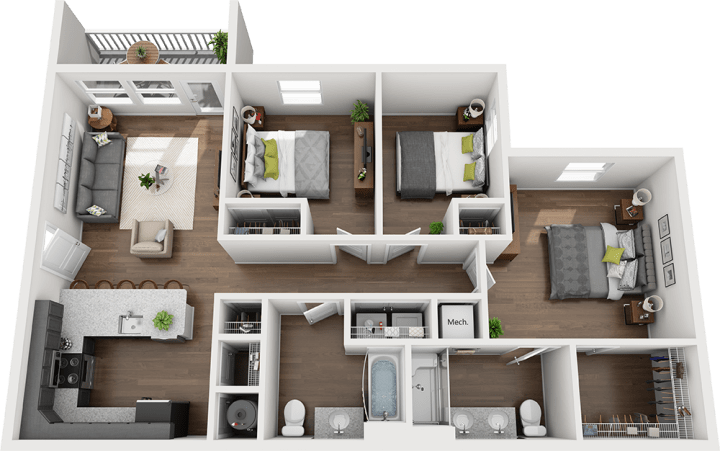 Legends - The Kingston Floorplan