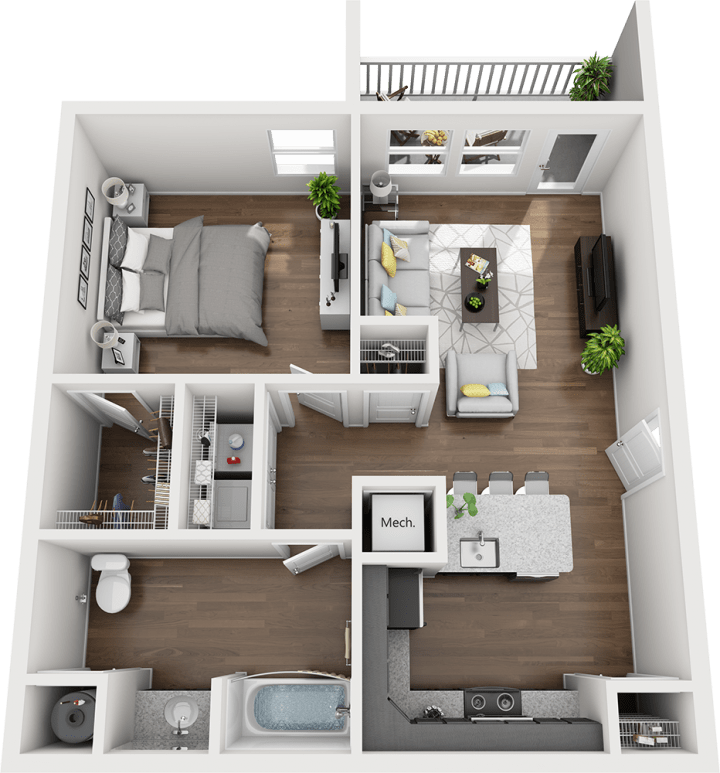 Legends - The Madison Floorplan