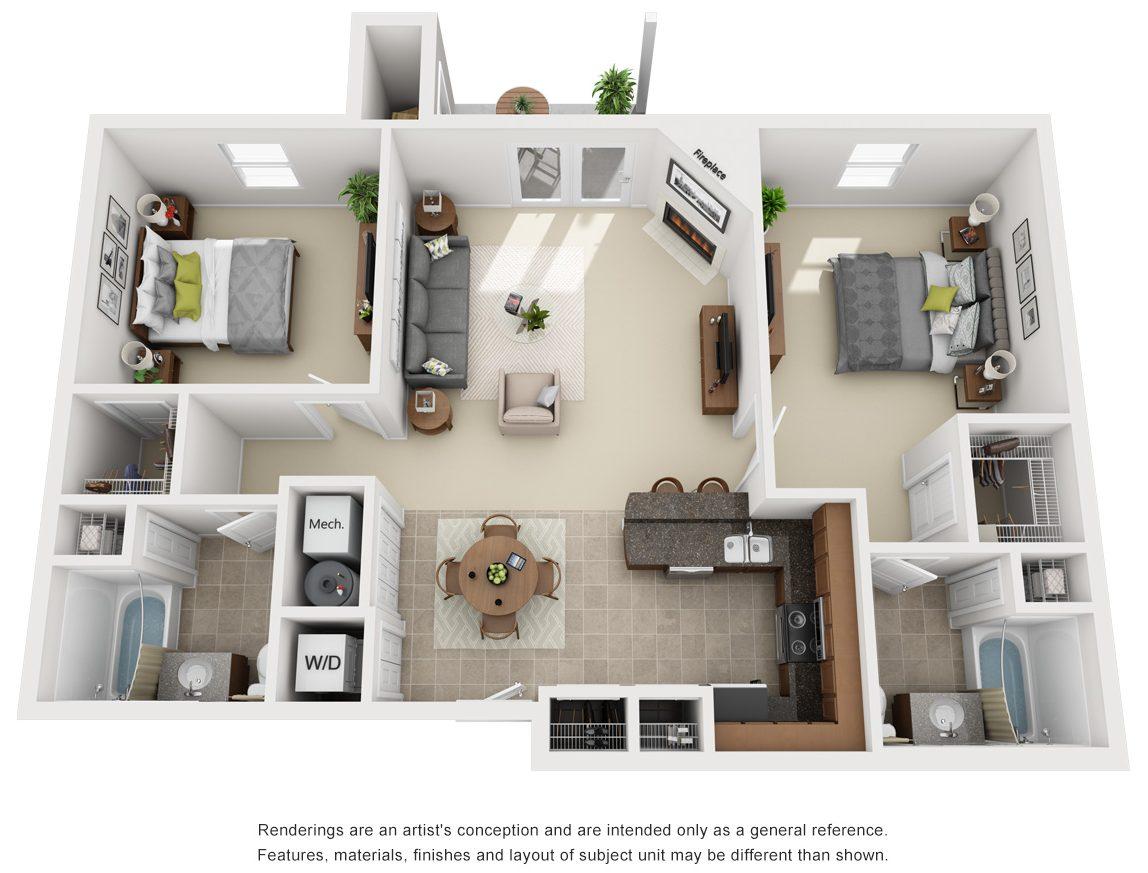 Pinehurst Floor Plan