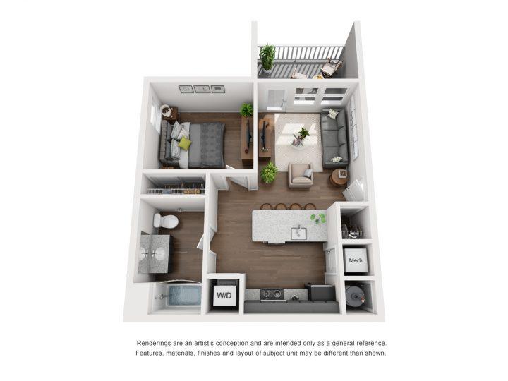 Hudson Floor Plan