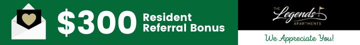 $300 resident referral